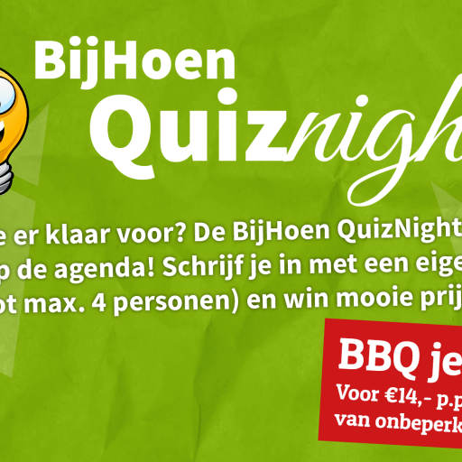 Quiznight bij Bijhoen